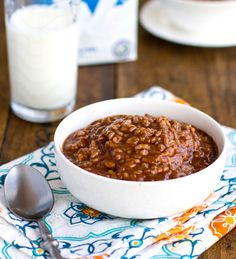 ~ chocolate coconut sticky rice ~ from pinch of yum  •1¼ cup glutinous rice  •2 cups water  •1 can coconut milk  •1 cup milk  •¼ cup cocoa powder whisked with 1 tablespoon water  •1 cup sugar  Bring water and rice to boil. Add rest of ingredients except sugar, simmering for 15 min. while stirring. Add sugar and simmer 15 more min. and serve w/cream