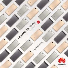 Die P9-Familie: Das P9, das P9 Plus und das P9 lite. #Huawei #HuaweiP9