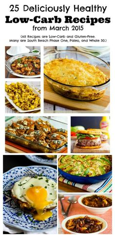 [NEW] Here are the 25 Deliciously Healthy Low-Carb Recipes from March 2015 that I posted on Kalyn's Kitchen or spotted on other gret blogs, enjoy! (Gluten-Free, SBD, Paleo, Whole 30) [from KalynsKitchen.com]