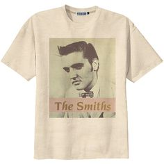 Retro The Smiths Morrissey Punk Rock T-Shirt Tee Organic Cotton... ($14) ❤ liked on Polyvore featuring tops, t-shirts, shirts, tees, holiday graphic tees, distressed t shirt, graphic shirts, punk rock t shirts and holiday t shirts