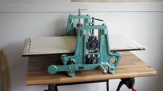 """A great start to my week when I bought a second hand Rollaco """"Classic"""" etching press, something I've been hunting for over a long period of time. It is in """"as new"""" condition, even the blankets and is..."""