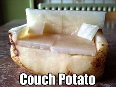 A very intricate carving! | Couch potato | Food puns and jokes