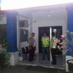 Bulan Ramadhan Polisi Sambangi Bank Pada Malam Hari