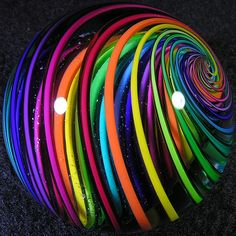 colorful glass | colorful-paperweight