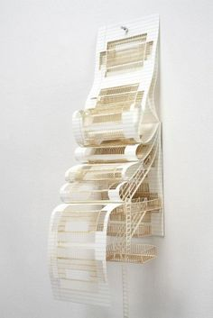 Notepad, Sarah Sze, Color offset lithograph and laser engraving bound as composition pad, Whitney Museum of American Art Art Origami, Whitney Museum, Arts Award, 3d Models, Diy Arts And Crafts, Diy Crafts, Art Design, Oeuvre D'art, Installation Art