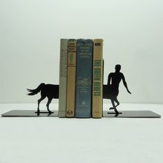 Unusual book ends