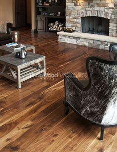 This is one of my all time favorite install shots! This wide plank walnut flooring is milled from fully matured and responsibly sourced logs that are plain-sawn through and through. House, Wood Floors Wide Plank, Walnut Hardwood Flooring, Barnwood Floors, Hardwood Floors, Wide Plank Flooring, Reclaimed Barn Wood Floors, Wood Planks, Reclaimed Barn Wood