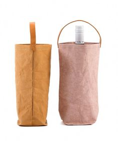 3091bcf2ea25 Matières Nomades Brands - Washable Paper Wine Bag With Handles