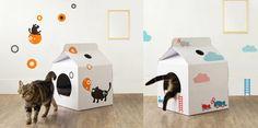 Cat House MilkBox de MOISSUE