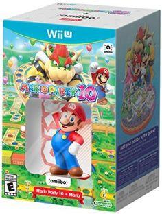 #latestgames #tradein Mario Party 10 + Mario amiibo Bundle – Wii U http://www.gameanouncement.com/games/mario-party-10-mario-amiibo-bundle-wii-u-nintendo-wii-u-com/