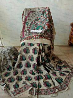 Kalamkari silk sarees 0