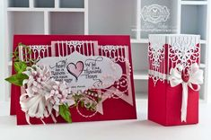 Valentines Day Card Making Ideas by Becca Feeken using Quietfire Design The Heart Has It's Reason and Spellbinders Gate Element - www.amazingpapergrace.com