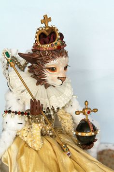 Young Queen Liz  Original doll by NIADA artist by Tanyamarriott, $1800.00