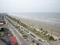 Peruíbe - vista privilegiada do Edifício Serra dos Itatins