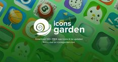 Iconsgarden - Fresh Icon Resources for everyone