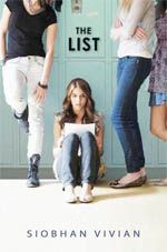 "The List by Siobhan Vivian dives into how we take what other people say about us to heart. A list is published each school year, dictating 4 ""pretty"" and 4 ""ugly"" girls in high school. The book chronicles how each girl responds to be listed."