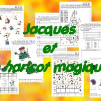 fiches Jacques et le haricot magique  chezlulu Maternelle Grande Section, Jack And The Beanstalk, Children's Picture Books, Help Teaching, Teaching French, Learn French, Ms Gs, School Days, Education