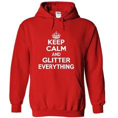 Keep calm and glitter T Shirt and Hoodie - #christmas gift #food gift. Keep calm and glitter T Shirt and Hoodie, creative gift,hoodies/sweatshirts. ORDER HERE =>...