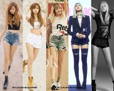 "Damn her legs  Apparently her height is about 168-170 cm (~5'6""-5'7"") ... She's so tall  (I'm saying tall for an idol, since most female idols are generally not this tall) . Source: @lalisa.blackpink Image credit to owners"