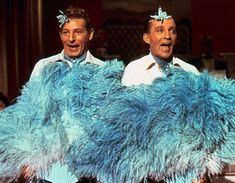"Danny Kaye and Bing Crosby in ""White Christmas.""- It wouldn't be Christmas without it."