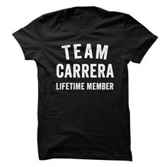 CARRERA TEAM LIFETIME MEMBER FAMILY NAME LASTNAME T-SHIRT