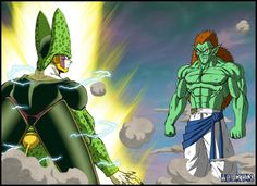 Another possible fight in Dragon Ball Multiverse, Cell versus Bojack. Who will win ? V2 here (on deviantart): line and color by me DBM by Salagir and Gogéta Jr Dragonball By Akira Toriyama
