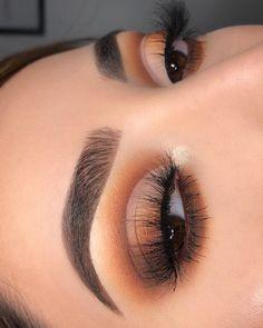 Makeup Is Life, Makeup Goals, Makeup Inspo, Makeup Inspiration, Beauty Makeup, Brown Eyeshadow Looks, Natural Prom Makeup, Makeup Pictorial, Baddie Makeup