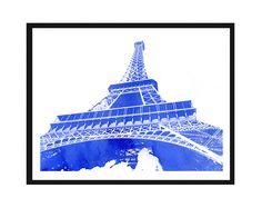 Free Printable Paris Watercolor Art