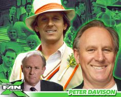 *PIN to WIN* Meet Peter Davison at The Fifth Doctor in the sci-fi series Doctor Who! Fifth Doctor, Bbc Doctor Who, Peter Davison, William Hartnell, Watch Doctor, Comic Conventions, Sci Fi Series, Nerd Herd, Geek Culture
