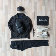 "FatRatFits on Instagram: ""#outfitgrid #converseperu"""