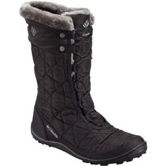 Slip into the Columbia Women's Minx Mid II Omni-Heat Boot when winter's weather gets really chilly. Columbia insulated the Minx to ensure warmth in sub-zero temperatures,  and the Omni-Heat lining boosts warmth by reflecting back heat. The Minx  also features an Omni-Tech insert and fully taped seams for reliable  waterproof breathable protection. Its Omni-Grip sole sticks to slippery  sidewalks, and the removable PU footbed provides cushy convenience.
