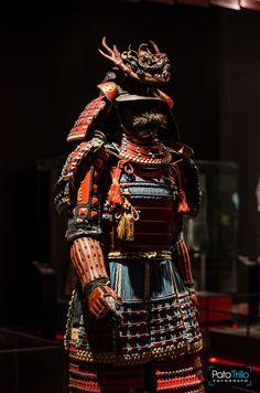 Primera Parte de esta hermosa Exposición de armaduras japonesas