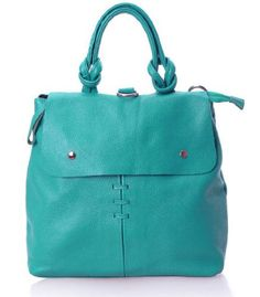 VIVILLI Rivets Leather Tote Bag