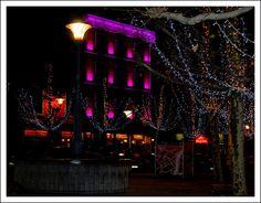 Fetes des lumières à Liege, Wallonia_ Belgium