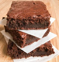 The ultimate brownies- Die ultimativen Brownies The ultimate chocolate brownies - Dessert Oreo, Brownie Desserts, Brownie Recipes, Cookie Recipes, Brownie Cookies, Peanut Butter Dessert Recipes, Dessert Recipes For Kids, Easy No Bake Desserts, Dinner Recipes
