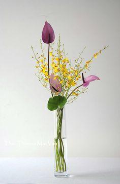 Ikebana. Arte floral: Mai Van Thai Thomas.