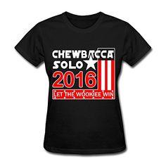 XY-TEE Women's T Shirt Chewbacca Solo 2016 Let The Wookiee Win Black Size XXL YX-Tee Fashion Design http://www.amazon.com/dp/B018LRU2AG/ref=cm_sw_r_pi_dp_342Fwb0SGSSVF