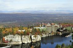 When I was little we went here all the time--Mohonk House Hudson River Valley