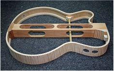 Laplante Guitars Feather hollowbody prototype
