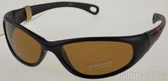 Levi Strauss DOCKERS Sunglasses 100% UV Protection Black Mauve Sport 62-18-115 #DOCKERS #Sport