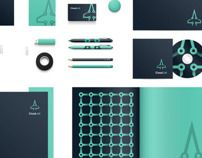 CLOUD JET BRANDING by Michal Parulski, via Behance
