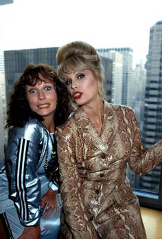 Fluff: Jennifer Saunders confirms that there will be an Absolutely Fabulous movie soon. Jennifer Saunders, Patsy And Eddie, Edina Monsoon, Patsy Stone, Bbc, Joanna Lumley, Culture Pop, Ab Fab, British Comedy