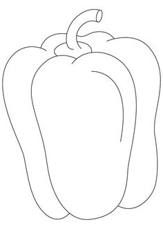 Capsicum fruit coloring pages Vegetable Coloring Pages, Fruit Coloring Pages, Cat Coloring Page, Coloring Pages For Girls, Colouring Pages, Coloring Books, Fruits And Vegetables Pictures, Vegetable Pictures, Vegetable Drawing