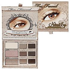 Too Faced - Natural Eye Neutral Eye Shadow Collection <3 An all-inclusive kit that includes nine essential shadows for all-over lid color, highlighting, smudging, and more <3