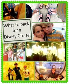 What to Pack on a #Disney Cruise