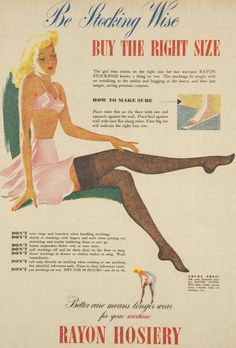 Be stocking wise, 1944