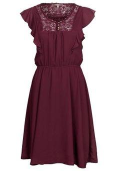 Blusenkleid - ruby