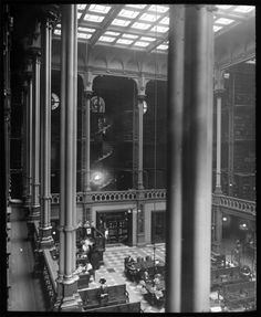 Those stain glass windows!- 15 Gorgeous Photos Of The Old Cincinnati Library