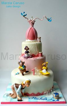 Marzia Caruso cake design Marzia Caruso cake design 850 Source by MayaBassan Decors Pate A Sucre, Fantasy Cake, Gateaux Cake, Character Cakes, Crazy Cakes, Disney Cakes, Just Cakes, Cake Boss, Novelty Cakes