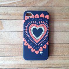 Capa para iPhone Coração África